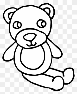Free Bear Black And White Clip Art Download