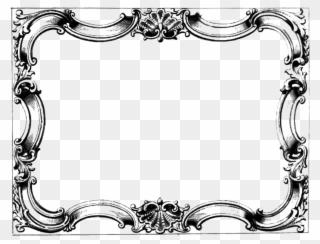 Victorian Frames Clipart Transparent Victorian Frame Png