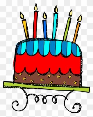 Free Clip Art Birthday Cake Many Interesting Cliparts