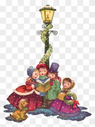 2bff98363 Vintage Christmas Png 14 Cliparts For Free Download - Vintage Christmas  Carol Singers Transparent Png