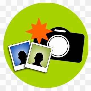 Appareil Photo Avec Un Flash 318 Silueta De Camara Png Clipart