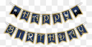 Free Png Birthday Banner Clip Art Download Pinclipart