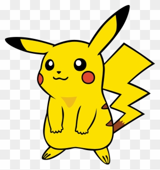 graphic relating to Printable Pikachu identify Pikachu - Website page - Jake The Pet dog Pikachu Clipart - Complete Dimension