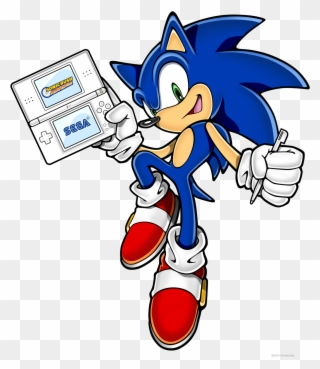 transparent sonic the hedgehog logo png