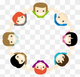 Circle of Friends Clipart Free - Clip Art Bay
