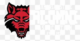 Asu Alumni Arkansas State University Red Wolves Clipart 1077464 Pinclipart