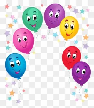 Smileys Clipart Balloon Buon Compleanno Nicolò Immagini