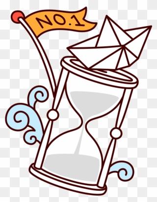 Hourglass Clipart Broken Relojes De Arena Dibujo Png Download