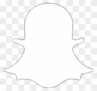 Snapchat Logo Png Black Snapchat Icon White Png Clipart Full Size Clipart 946357 Pinclipart
