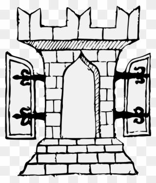 Free Open Door Clip Art Download