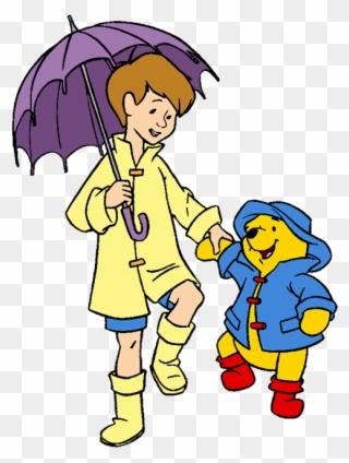 9c9577fc094 Christopher Robin Raincoat Clipart Winnie The Pooh - Winnie The Pooh Rain  Coat - Png Download