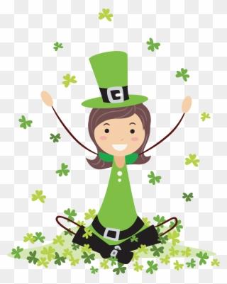 Patrick S Day Crafternoon Leprechaun Hat Transparent Background
