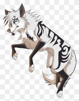 132-1326393_svg-free-sled-drawing-anime-anime-wolf-animal.png