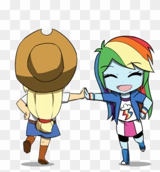 Applejack Artist Transparent Anime Dancing Gif Clipart 1366279 Pinclipart