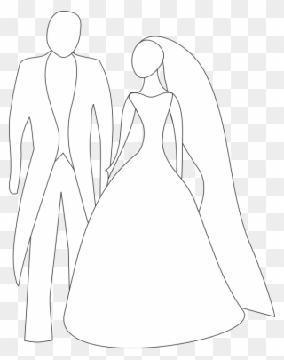 Free Bride And Groom Clip Art Download