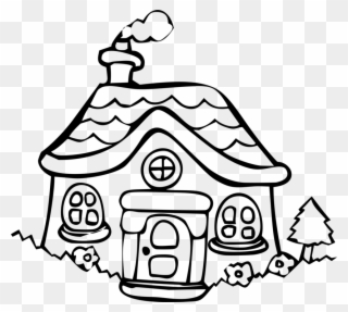 download house presentation building library house with christmas House Clip Art house cottage building holiday home dwelling cartoon house line drawing clipart