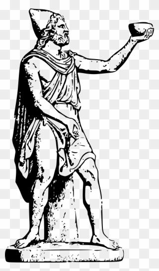 Statue Of Zeus At Olympia Hera Poseidon Greek Mythology