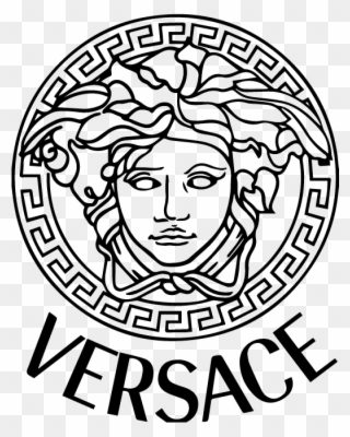 c5f612f849b0 Medusa Of Versace - Versace Logo Png Clipart (#1452672) - PinClipart