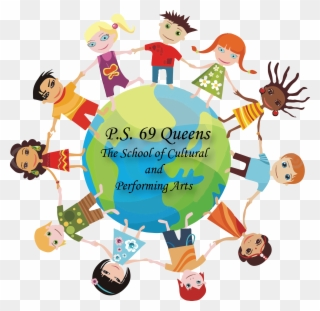 Kids Around The World School Psychologist Clipart Png Download