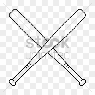 Baseball bat criss cross. Clipart png download pinclipart