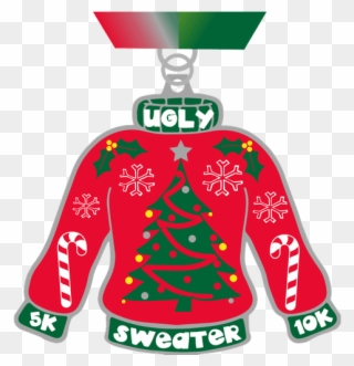 Ugly Christmas Sweater Clipart.2017 Ugly Sweater 5k And 10k Ugly Christmas Sweater No