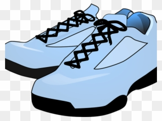 Image Black And White Download Clipart Tennis Shoes - Pink Shoes Clip Art - Png  Download addd926da