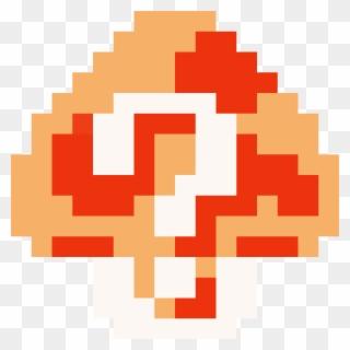 16 bit mario mushroom png