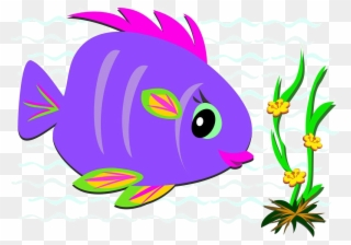 Download Svg Transparent Library Clip Art Cartoon Material Transprent Colorful Fish Clip Art Png Download 1633172 Pinclipart