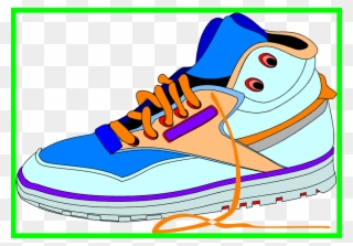 5a0052446ce Clip Art Black And White Stock Awesome Canvas Shoes - Sneakers Clipart  Transparent - Png Download