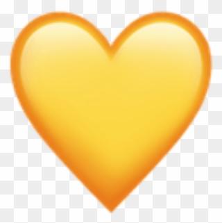 Yellow Aesthetic Tumblr Cute Sun Heart Hearts Emoji ...