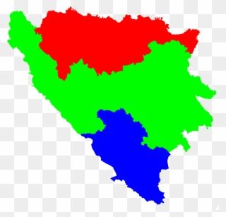 Bosnia And Herzegovina Flag Png Clipart 1859336 Pinclipart