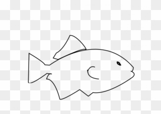 Free Png Fish Outline Clip Art Download Pinclipart