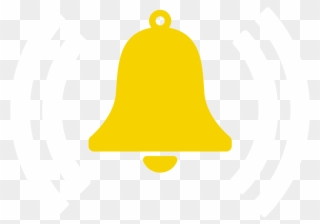 Alarm Bell Symbol - Bell Button On Youtube Clipart (#1706448