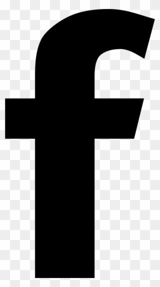 Icon round facebook black Facebook Logo