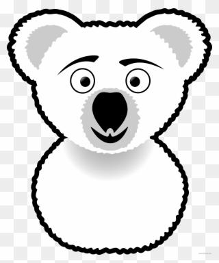 Koala American Black Bear Silhouette Drawing