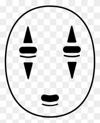 Face Coloring Page No Face Spirited Away Png Clipart Full Size Clipart 1828788 Pinclipart