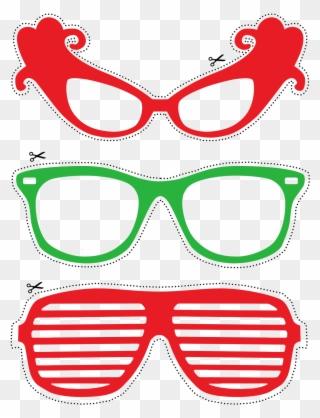 80s glasses.