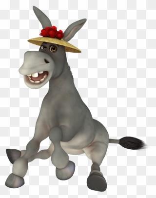 Donkey clipart   Free Clip Art: Cartoon Donkey Clipart   Horse love, Clip  art, Church crafts