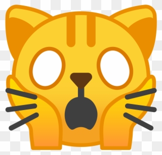 Download Svg Download Png - Cat Emoji Sad Clipart - Full
