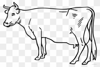 Free Png Cow Clipart Black And White Clip Art Download