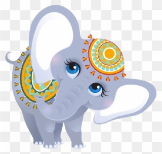 0f1499b7274a Funny Female Circus Elephant Elephants Pinterest Clip - Indian Baby  Elephant Clipart - Png Download