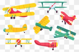 Airplane Fixed-wing aircraft Biplane Clip art - vintage aircraft png  download - 800*692 - Free Transparent Airplane png Download. - Clip Art  Library