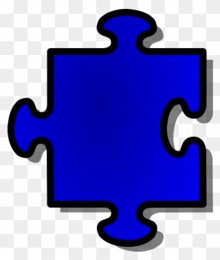 Jigsaw Puzzle Pieces Maker - Outline Of A Puzzle Clipart