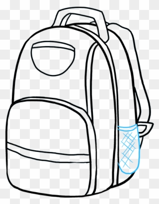 Backpack Drawing Clipart Backpack Drawing Clip Art