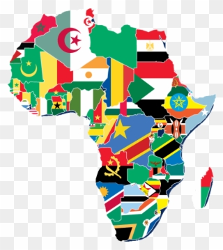 Flag Map Of Africa.Africa Flag Map Africa As The Centerpiece Of Nigeria S Foreign