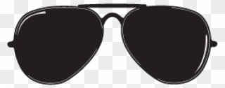 769074237716d Ray Ban Clipart Transparent Background - Aviator Sunglasses Clip Art - Png  Download