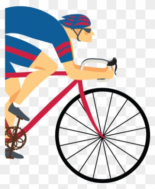 Free Cyclist Clip Art Download