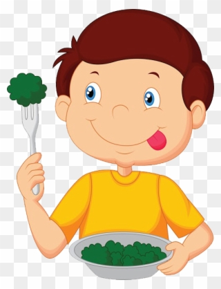 Child Food Health Menu Cantina - Eating Food Vector Png ...