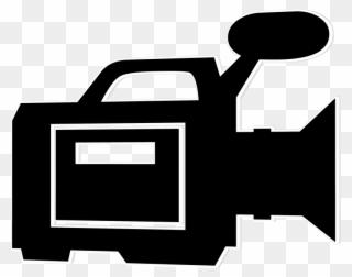 Video Camera Clip Art Png - Video Camera Png Clipart Transparent Png  (#132030) - PinClipart