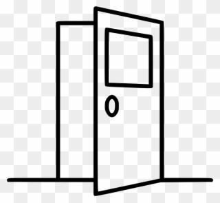 Door Svg Entrance Door Clipart 2081416 Pinclipart